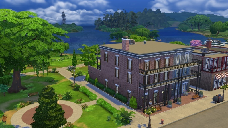 Daisylee's Doings Sims 4 - Pirate Ship park added 7-16 10-23-10