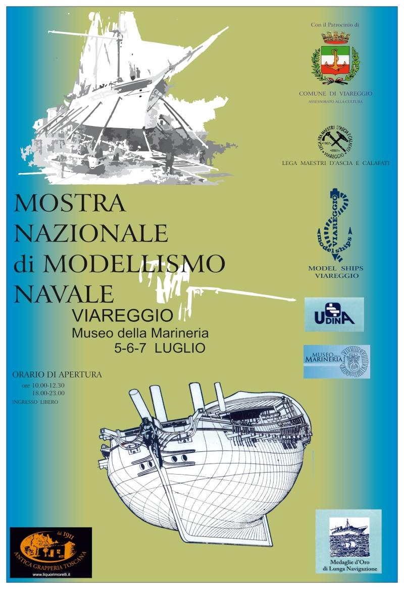 Exposition à Viareggio, 5-6-7 juillet 2014 Viareg10