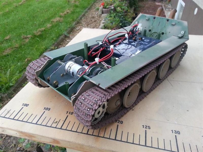 Jagdpanther Umbau 1:16 20120911