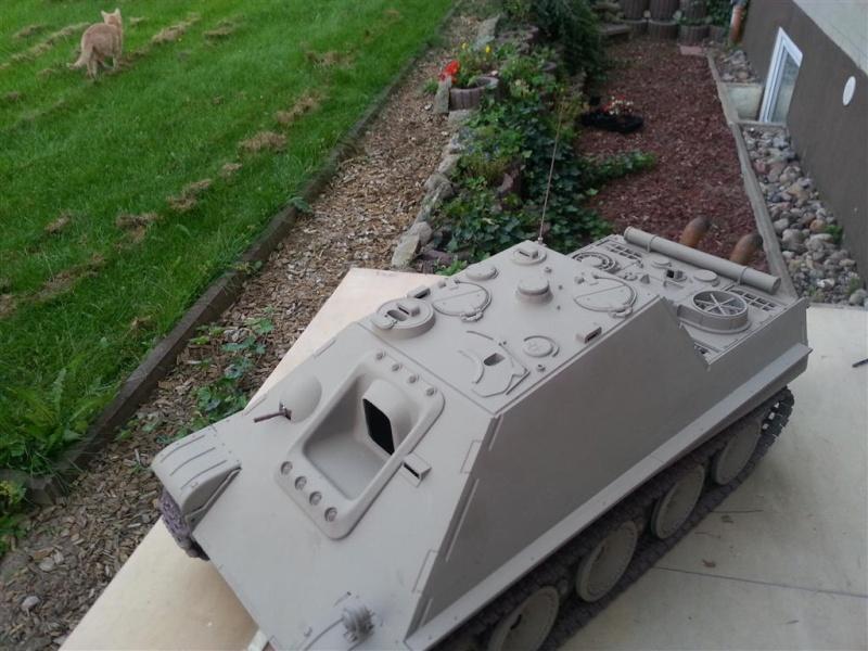 Jagdpanther Umbau 1:16 20120915