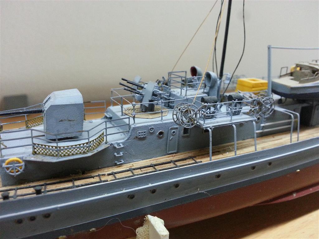 Fertige Schiffe der Kriegsmarine im Maßstab 1:200 20120939