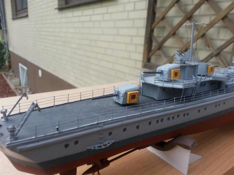 Fertige Schiffe der Kriegsmarine im Maßstab 1:200 20120965