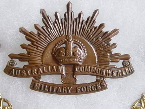 Canadien Brodie 1916 d'un officier Austra10