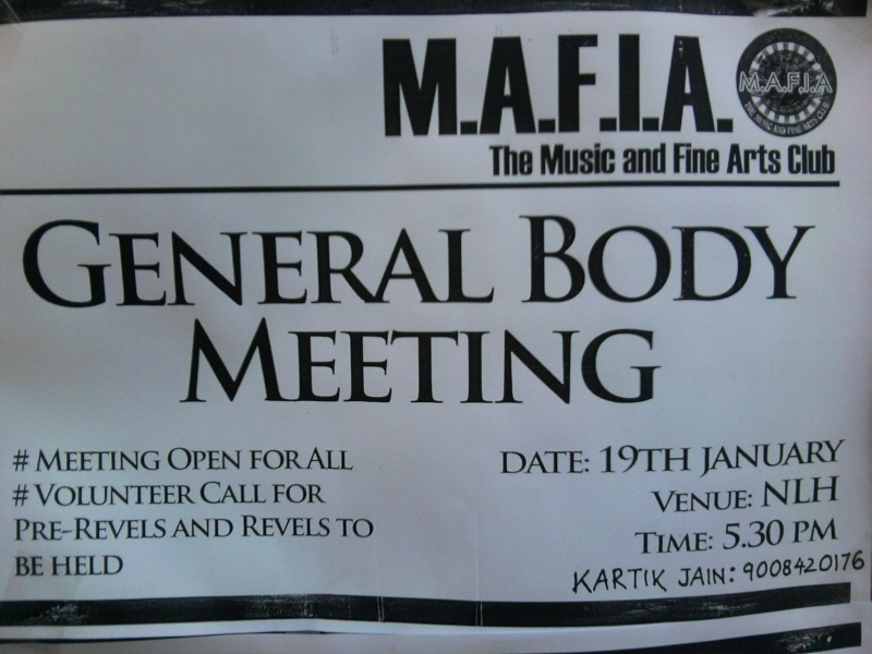 M.A.F.I.A General Body Meeting (19th January) Photo029