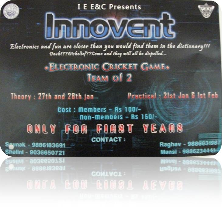 INNOVENT Electronic Cricket Game Slide119