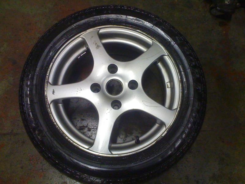 "Alloy Wheels 15"" with good tyres Img_0415"
