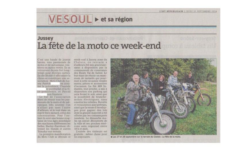 FÊTE DE LA MOTO A JUSSEY 70500 HAUTE SAONE Pvr_0010