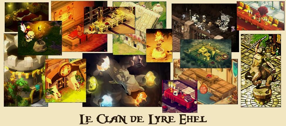 Clan de Lyre Ehel sur Ush - Dofus