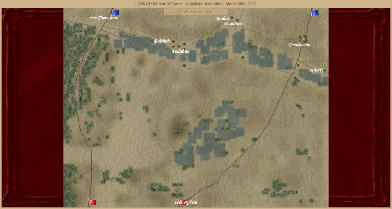 Scénario: Bataille de Gorodeczna 12 août 1812 Gorodc11