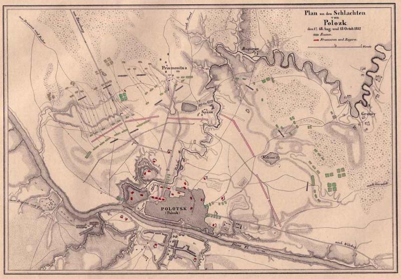 Scénario: Bataille de Polotsk  18 octobre 1812 Polots13