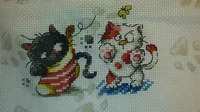 I love cat, c'est parti :) étape 2 Dsc_0110