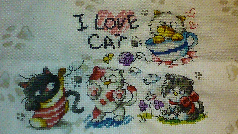 I love cat, c'est parti :) étape 5 Dsc_0111
