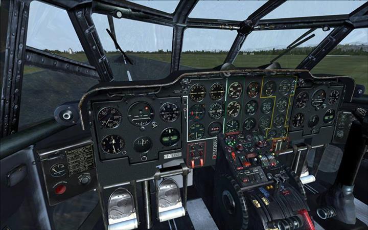 le cockpit du Nord atlas 2501 surnommé la grise  10023910