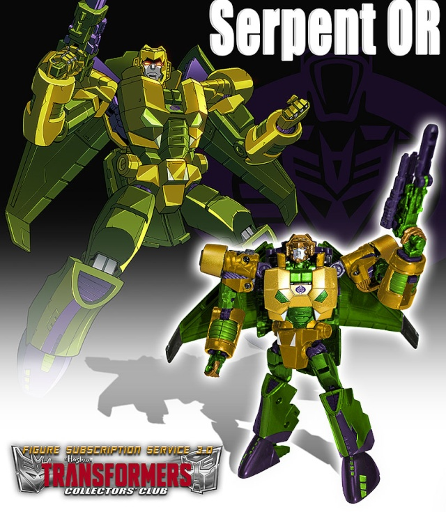 Transformers Club FSS 3.0 : Serpent OR Transf10