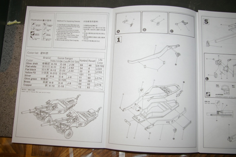 HOWITZER 105 M102 AFV CLUB au 1/35 Imgp3710