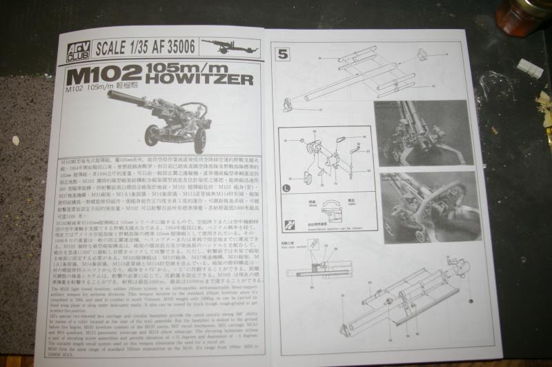 HOWITZER 105 M102 AFV CLUB au 1/35 Imgp3711