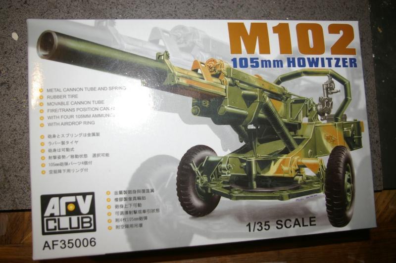 HOWITZER 105 M102 AFV CLUB au 1/35 Imgp3715