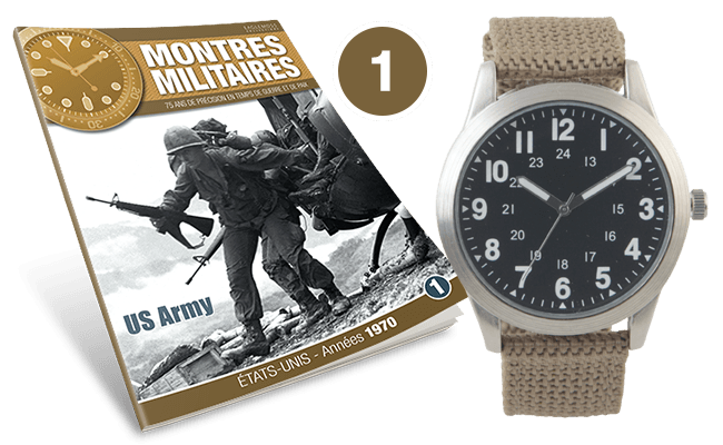 Eaglemoss lance sa collection Montres Militaires. Issue-10
