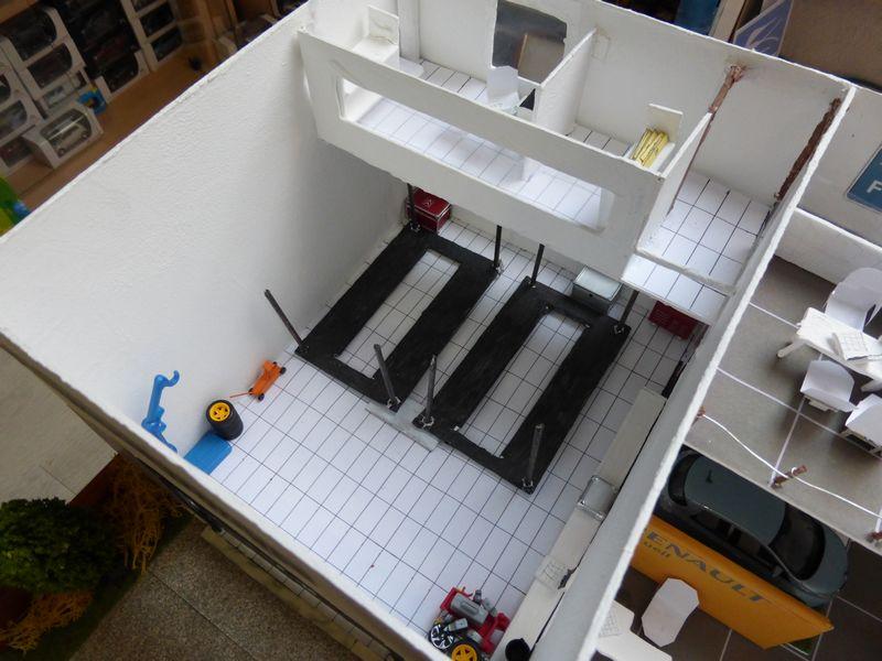Blabla sur le diorama, les personnages et le personnage de FDV dans les MES ... P1010753