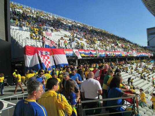 Sao Paulo: Hrvatska - Brazil 10492110