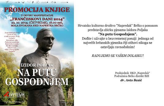 Promocija knjige Izidora Poljaka ,,NA PUTU GOSPODNJEM'' 10736510