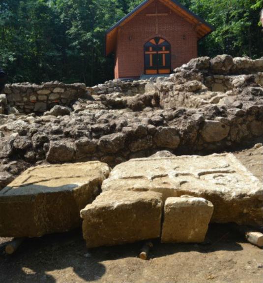 Samostan Skakava - Zidine 1510