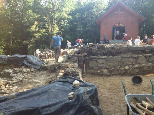 Samostan Skakava - Zidine 410