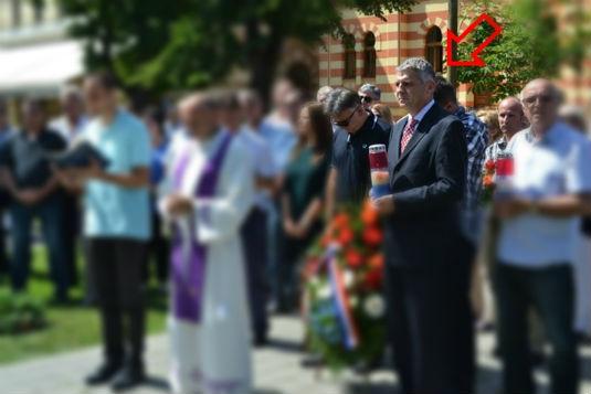 Skandal! Gradonačelnik Domić prisustvovao obilježavanju godišnjice HDZ-a Obljet10