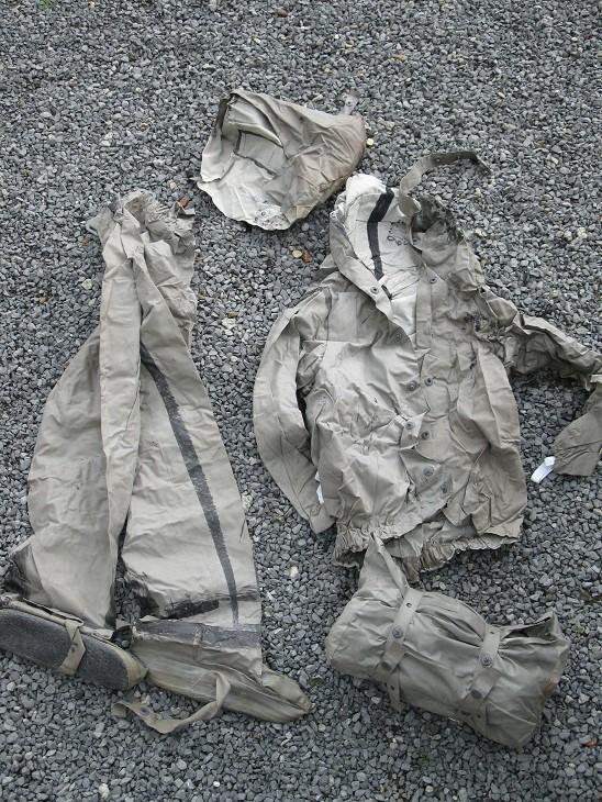 Combinaison de décontamination VENDUE 38810