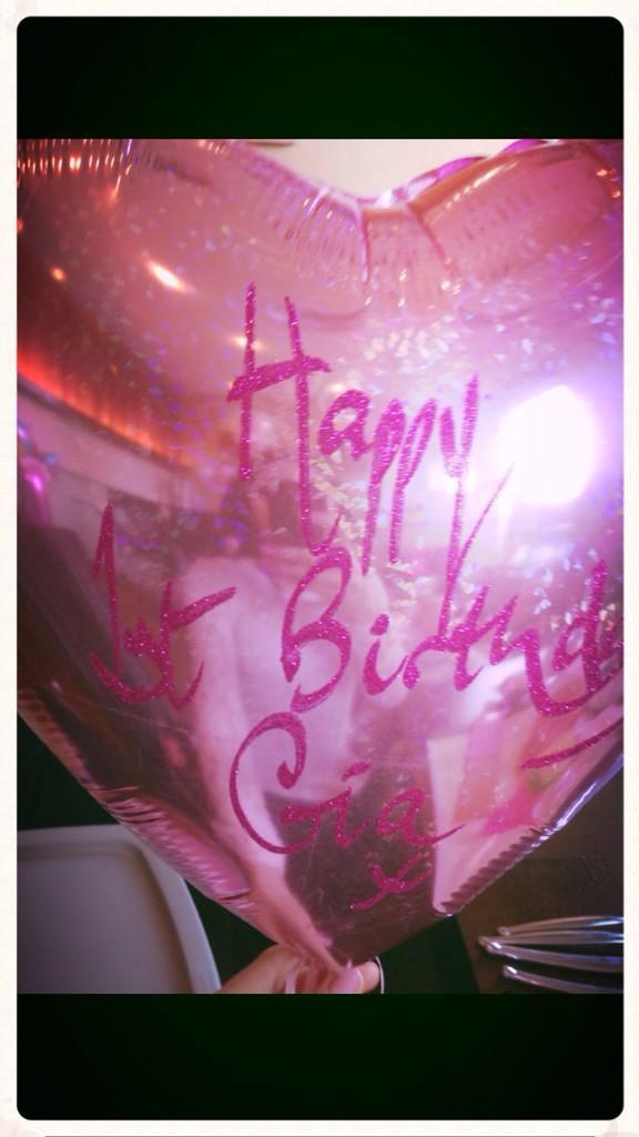 Happy 1th Birthday Gia B0qn3d10