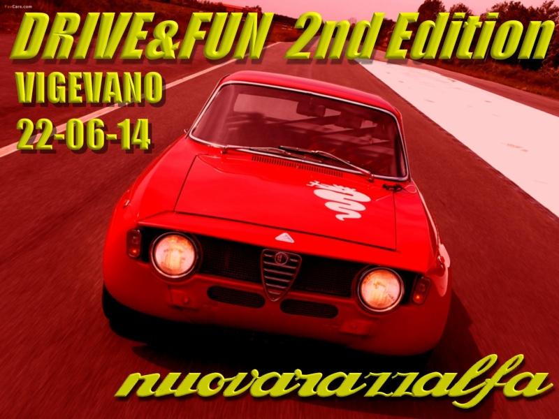 """DRIVE & FUN"" Alfa Romeo party 2nd Edition - VIGEVANO 22-06-14. Alfa-r10"