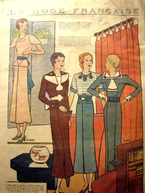 Evolution de la coiffe fouesnantaise 193510