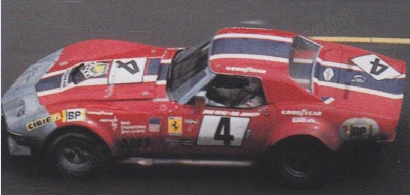 1969 N.A.R.T. Corvette, #4 Le Mans 1972 Chevro10