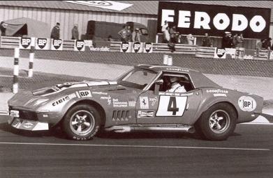 1969 N.A.R.T. Corvette, #4 Le Mans 1972 Chevro11