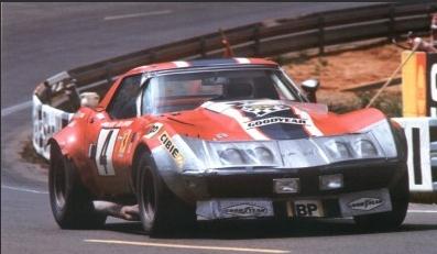 1969 N.A.R.T. Corvette, #4 Le Mans 1972 Chevro12