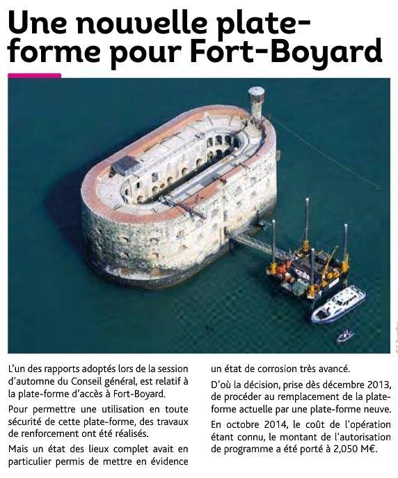Remplacement de la plate-forme d'accès de Fort Boyard (mars 2015) Aaaaa11