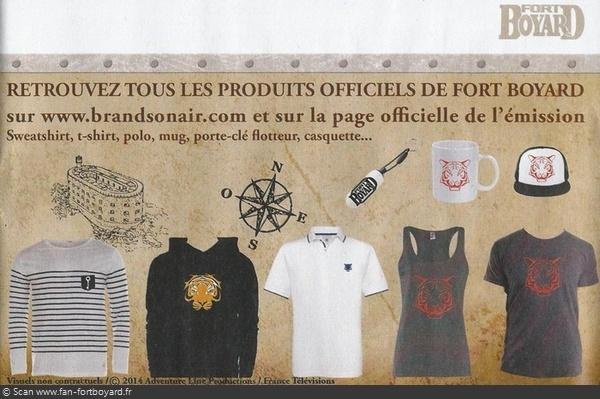 Produit dérivé 2014 : Vêtements, accessoires sur BrandsOnAir.com Fort-b65