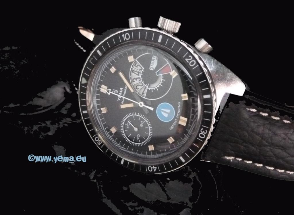 Daytona - chrono Yema vintage - Page 4 Yachti11