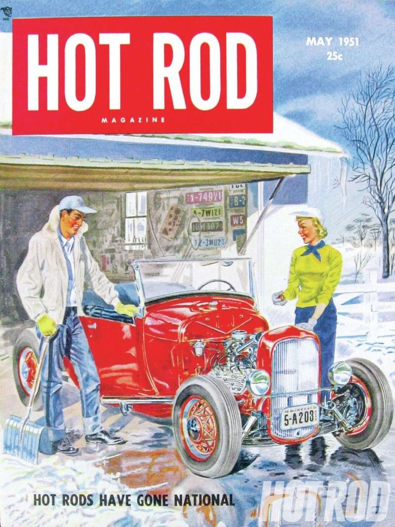 Vintage hot rod illustrations Hrdp-110
