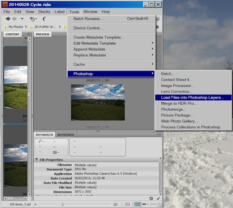 Using RAW image to increase dynamic range Load-a10