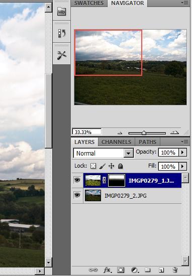 Using RAW image to increase dynamic range Mask10