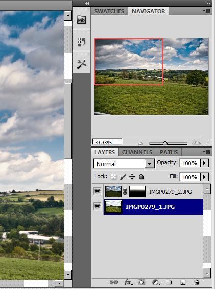 Using RAW image to increase dynamic range Mask210