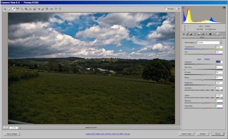 Using RAW image to increase dynamic range Sky10