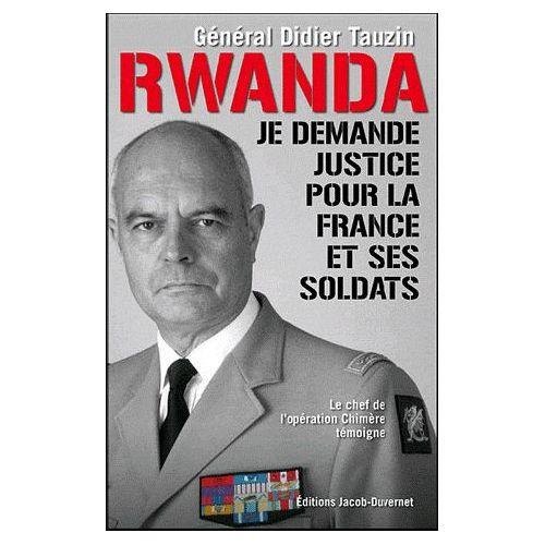 RWANDA Général Didier Tauzin Rwanda10