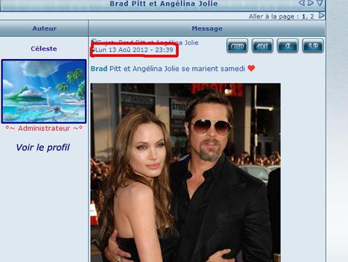 Angelina Jolie et Brad Pitt  Bradan10