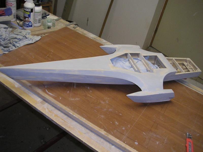 Océan Eagle modifié au 1/50è - Page 2 Enduit15