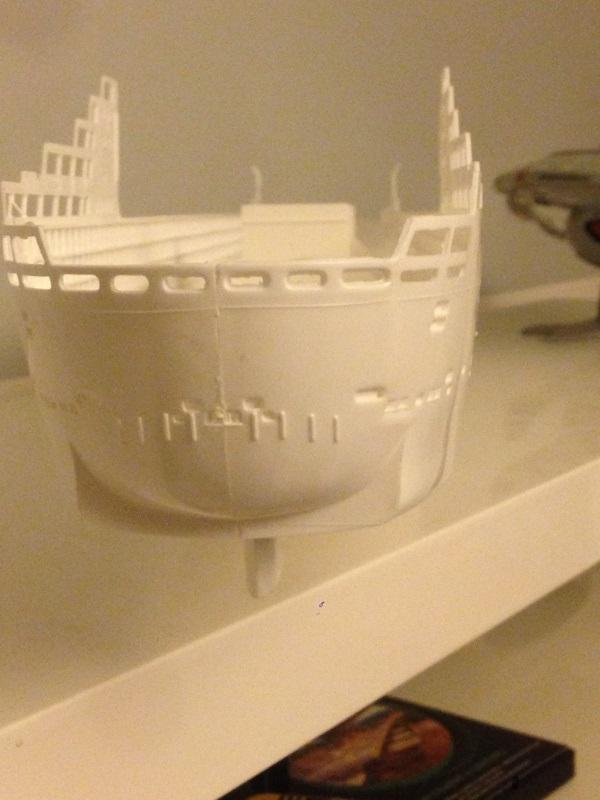 construction du queen mary 2 au 1/400 de chez revell Img_0510
