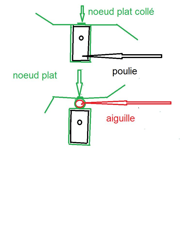 """BISQUINE sur la base """"La Cancalaise"""" Billing Boats 1/40°  - Page 2 Poulie11"""