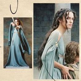 [cosplay fantastique] Robe de Guenièvre Captur16