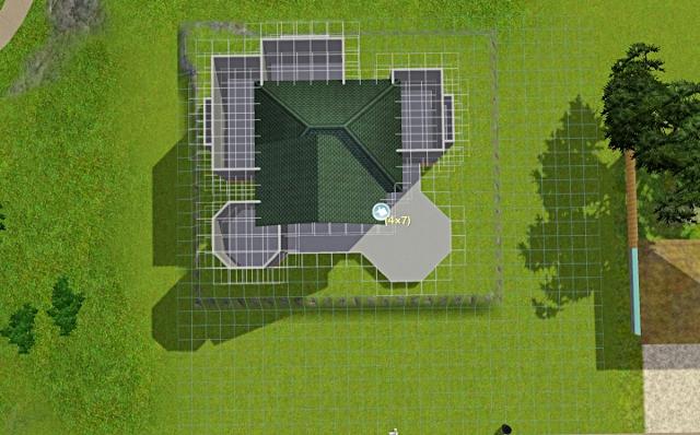 [Débutant] - Du carré à la maison victorienne - La maison sur la colline Victor11